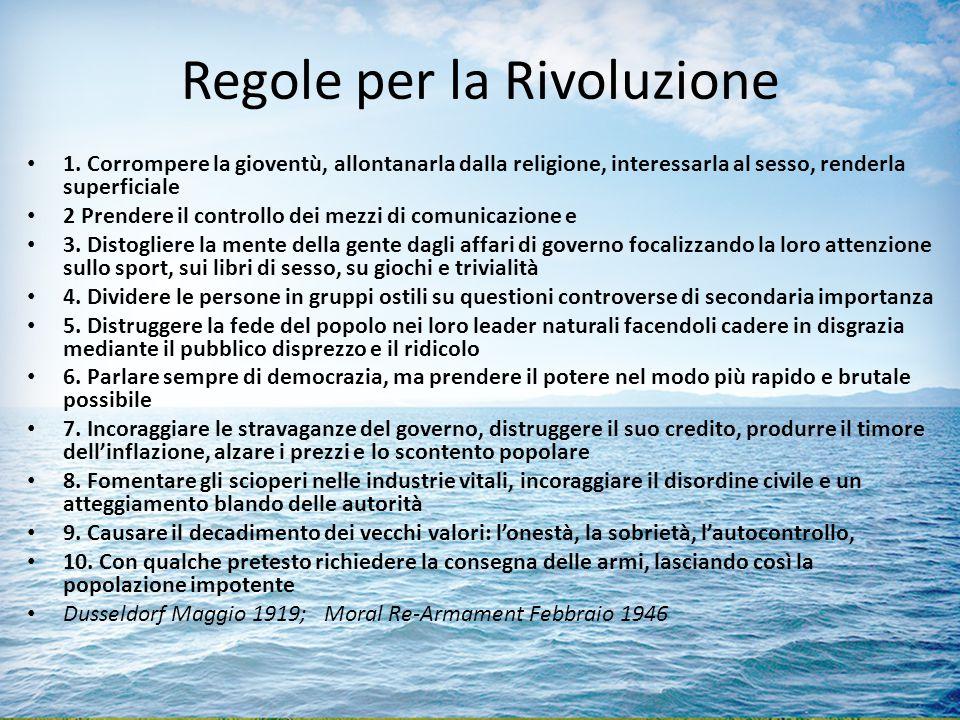 Regole per la Rivoluzione
