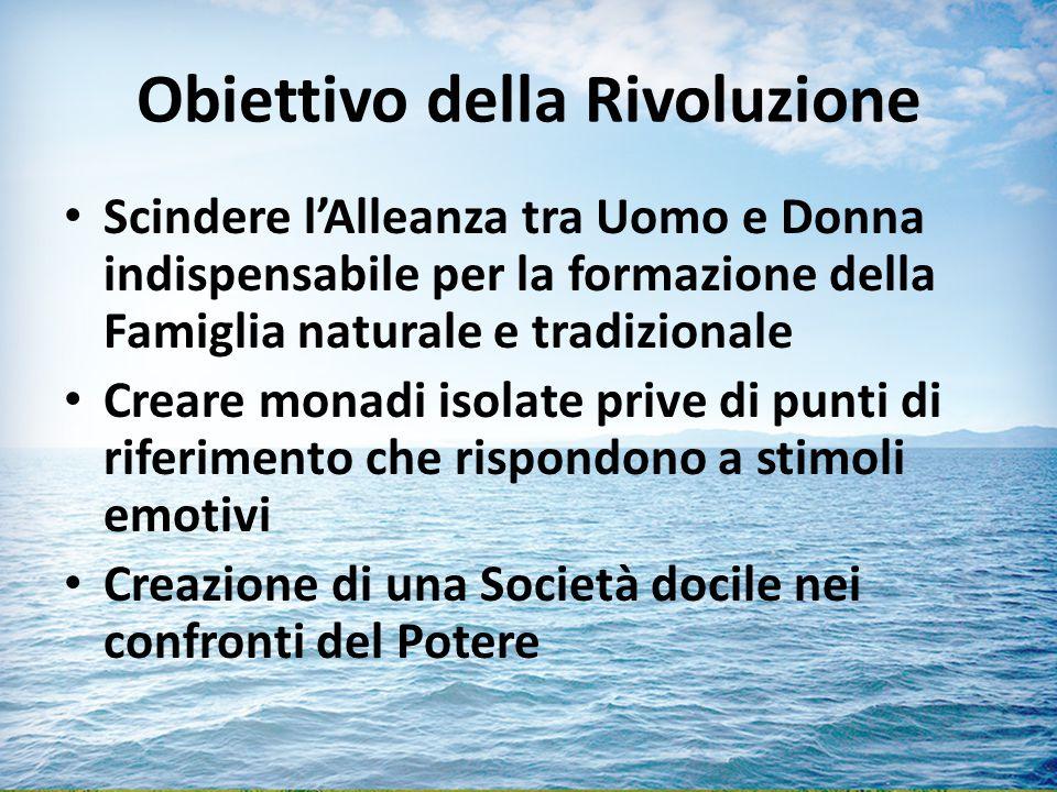Obiettivo della Rivoluzione
