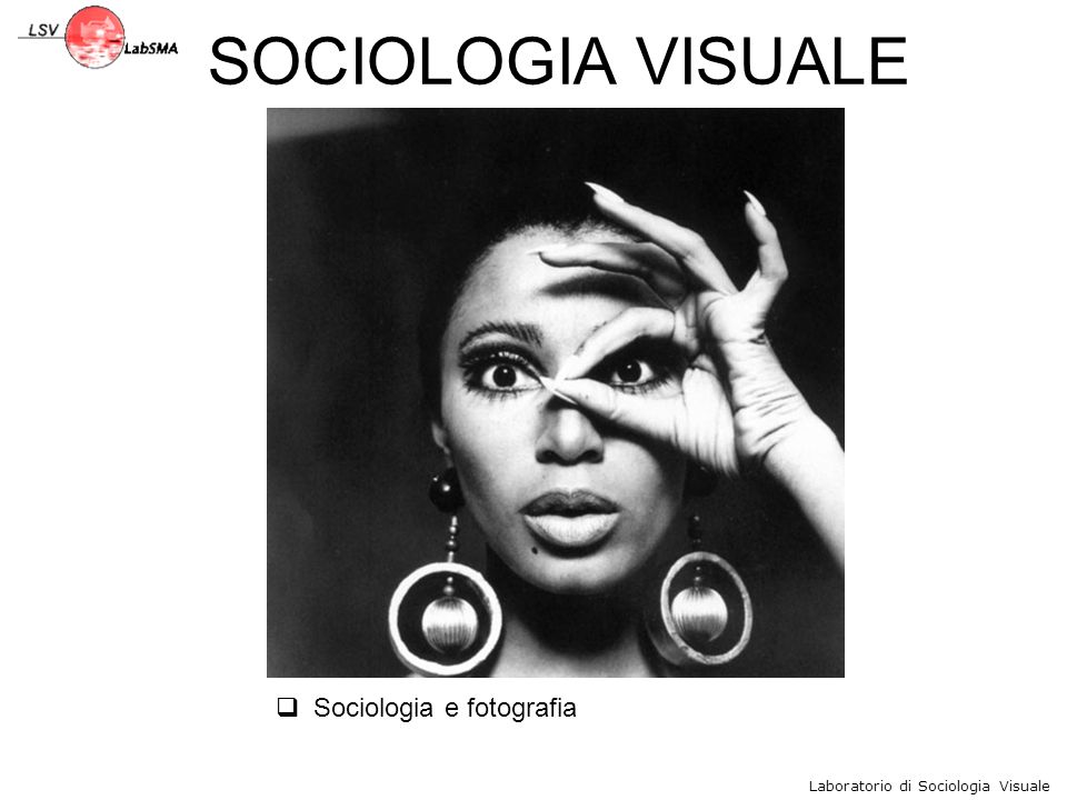 Sociologia e fotografia