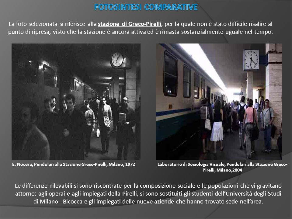 Fotosintesi Comparative