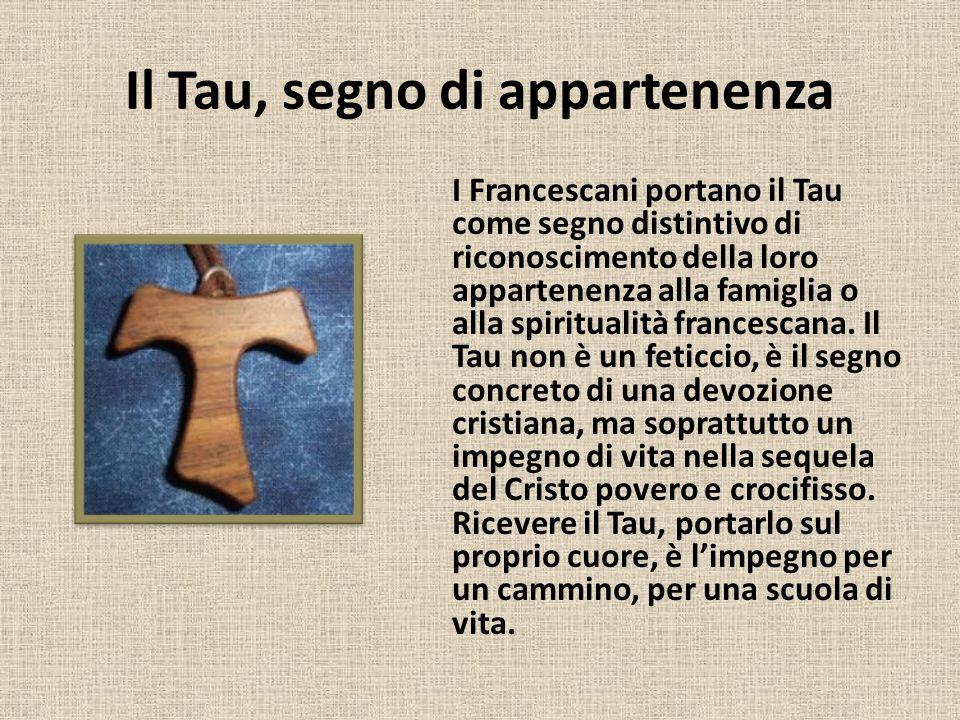 Il Tau, segno di appartenenza