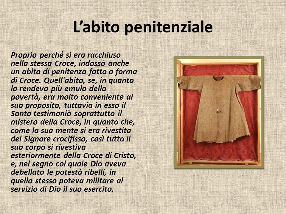 L'abito penitenziale