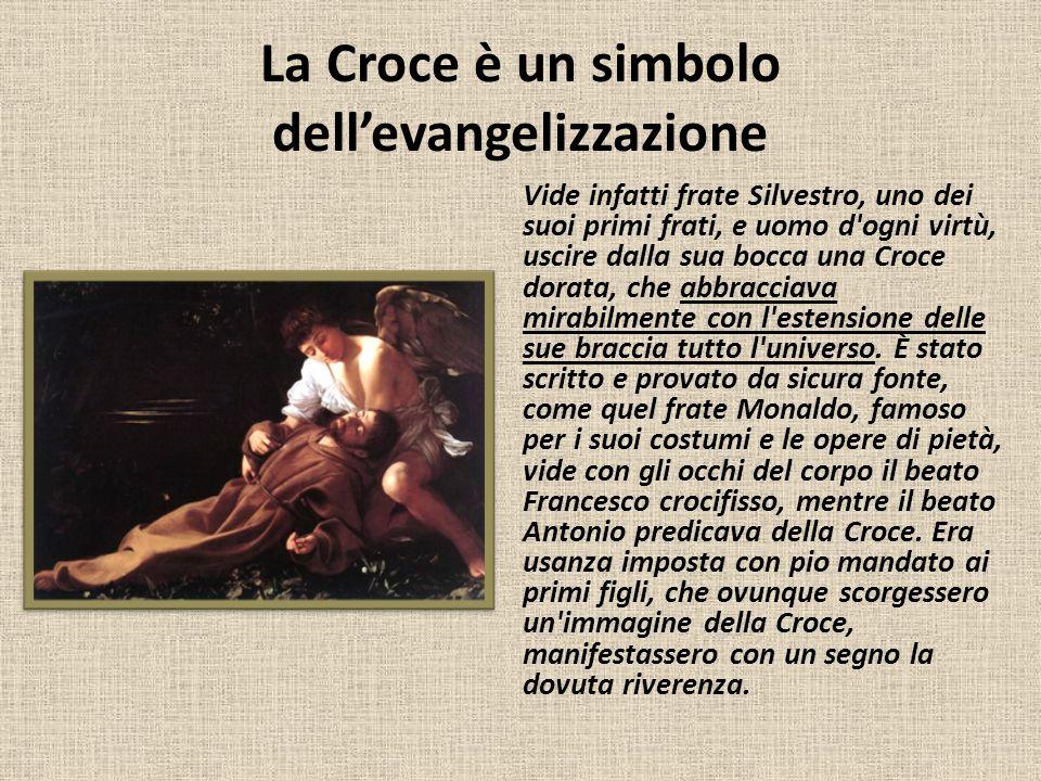 La Croce è un simbolo dell'evangelizzazione