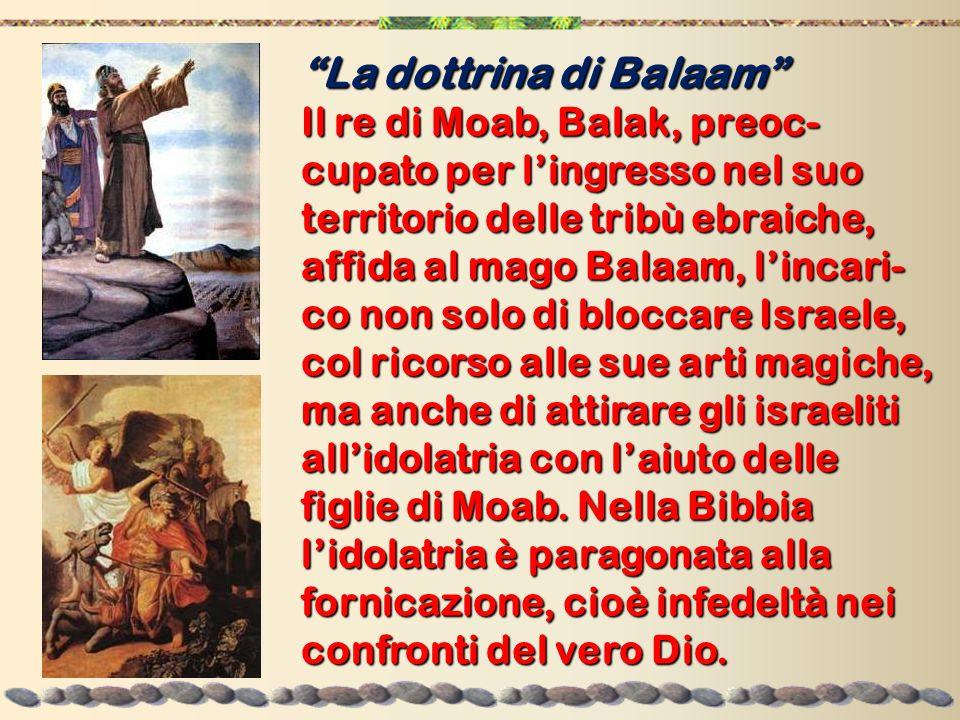La dottrina di Balaam