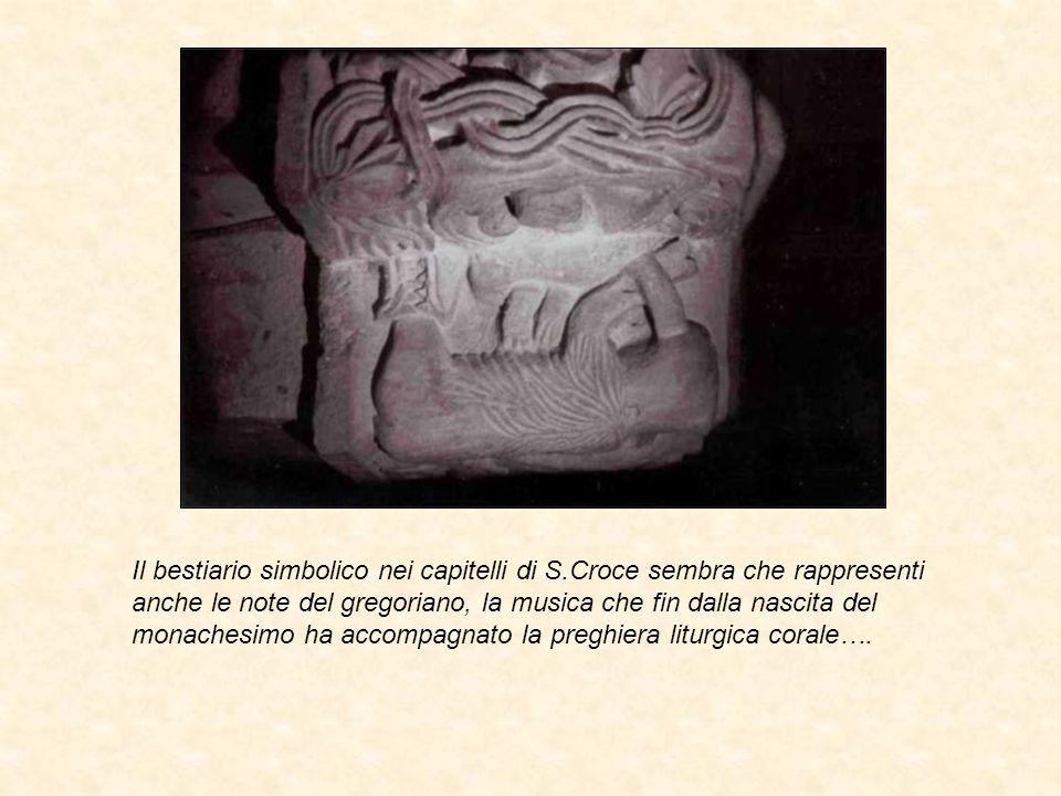 Il bestiario simbolico nei capitelli di S