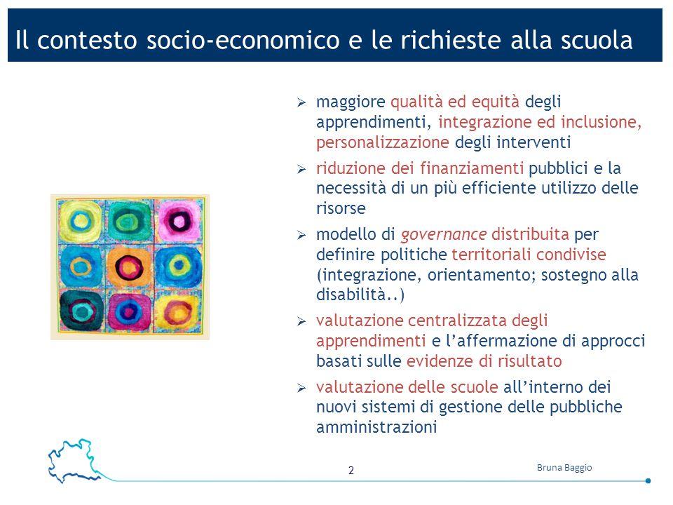 Il contesto socio-economico e le richieste alla scuola