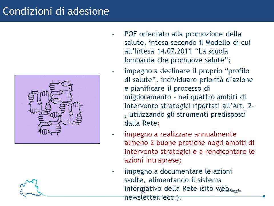 Condizioni di adesione
