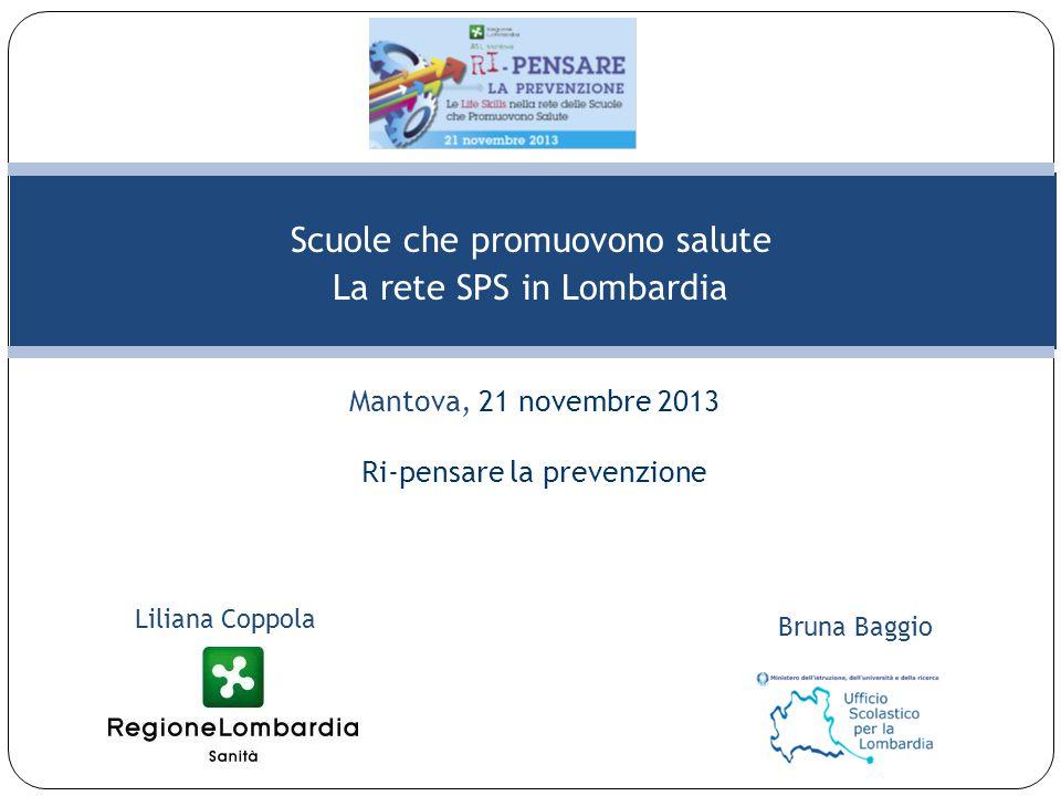 Scuole che promuovono salute La rete SPS in Lombardia