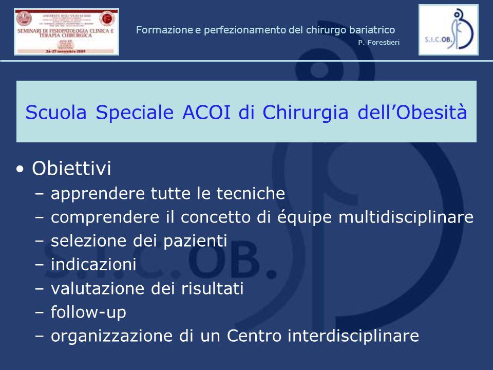 Scuola Speciale ACOI di Chirurgia dell'Obesità
