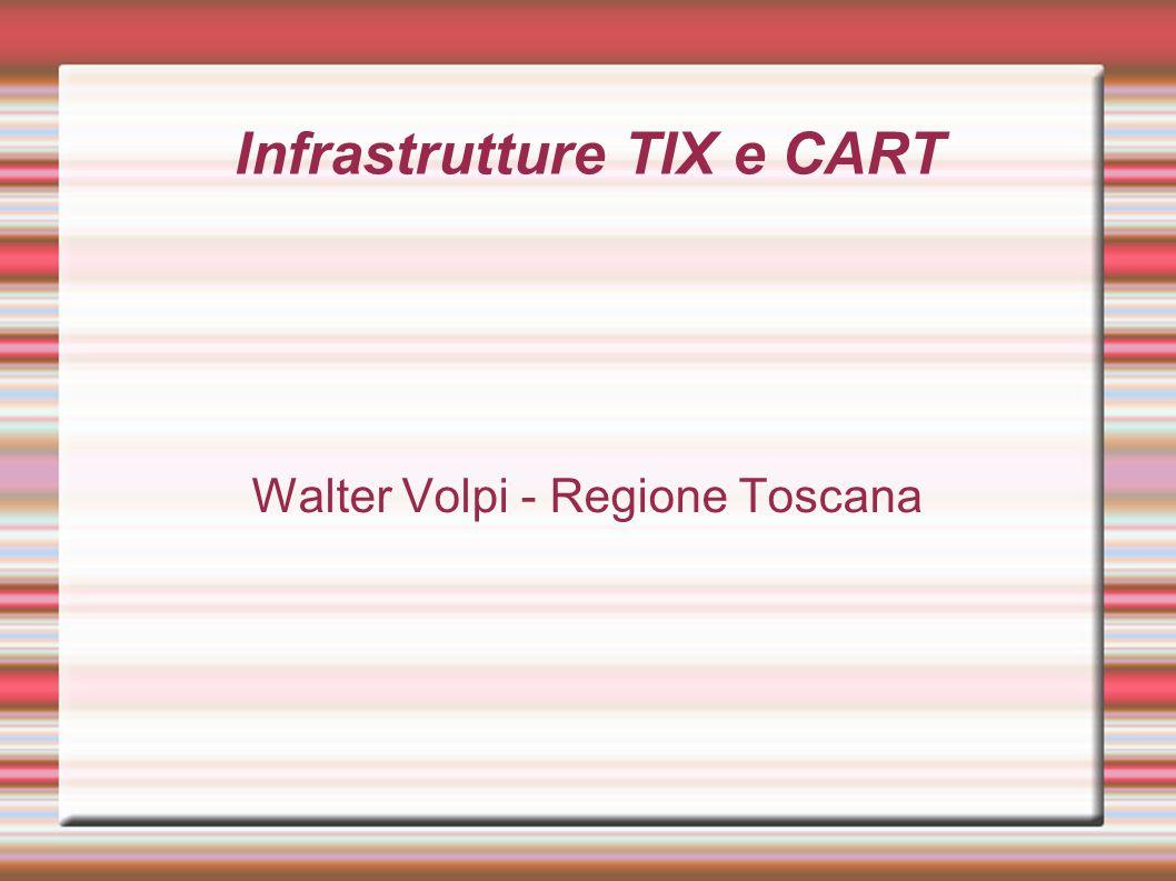 Infrastrutture TIX e CART