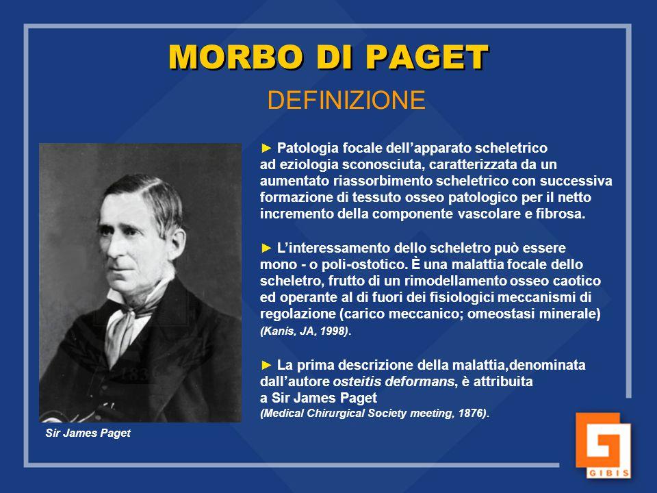 MORBO DI PAGET DEFINIZIONE