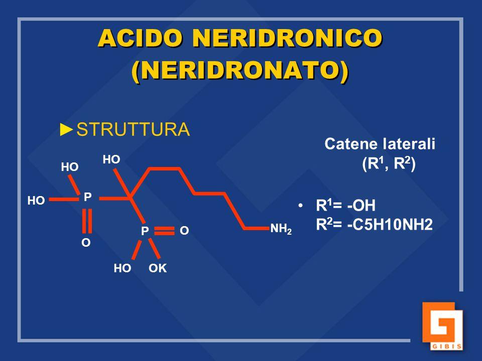 ACIDO NERIDRONICO (NERIDRONATO)