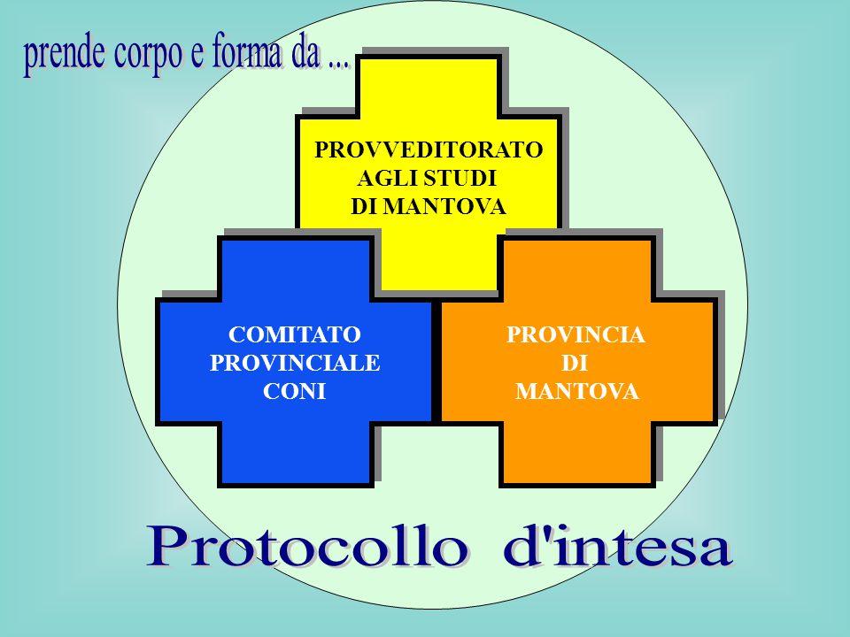 1999 Protocollo d intesa prende corpo e forma da ... PROVVEDITORATO