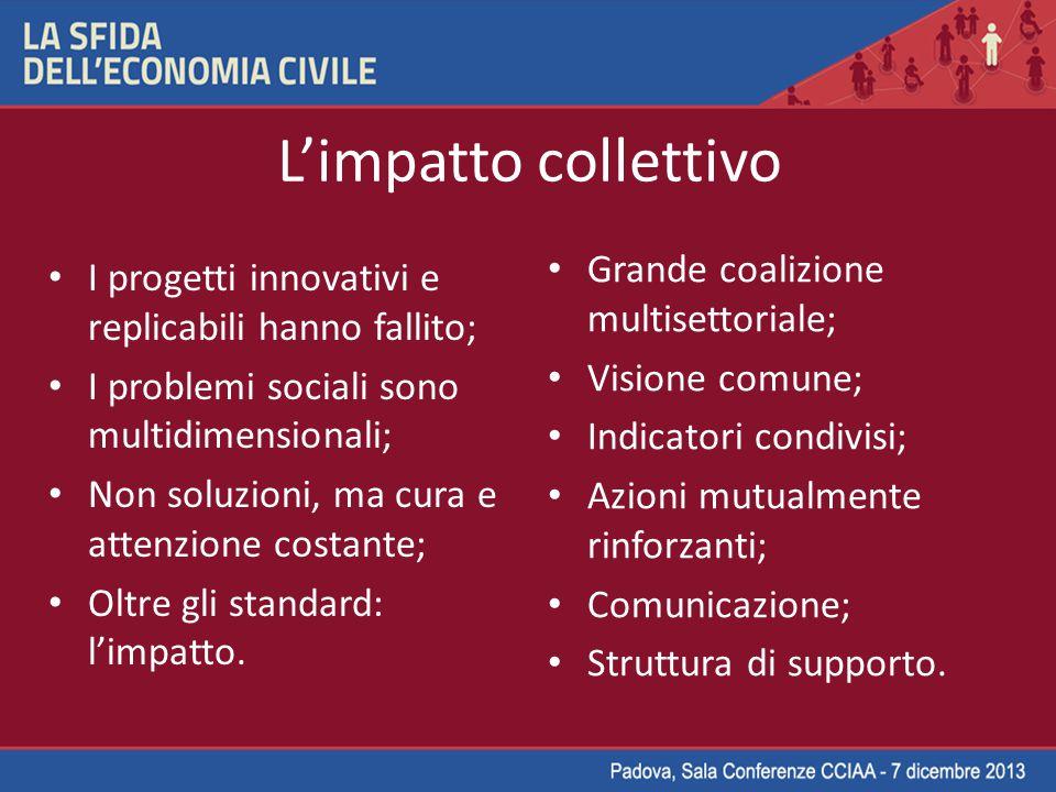 L'impatto collettivo Grande coalizione multisettoriale;