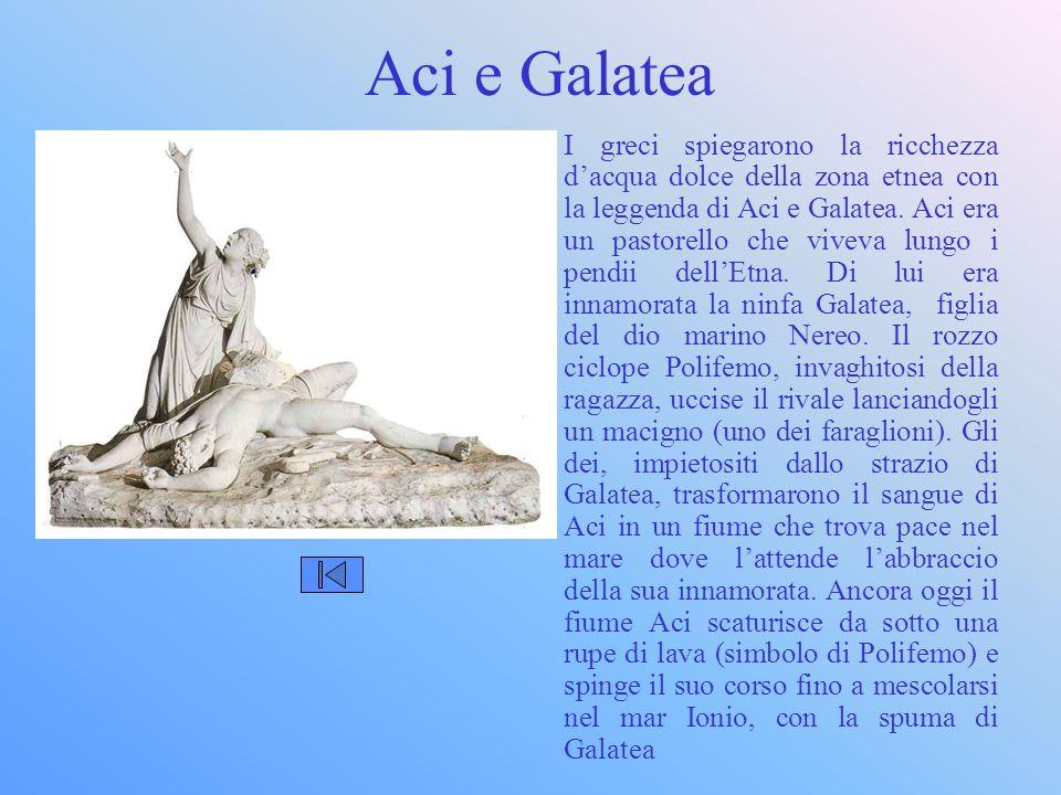 Aci e Galatea