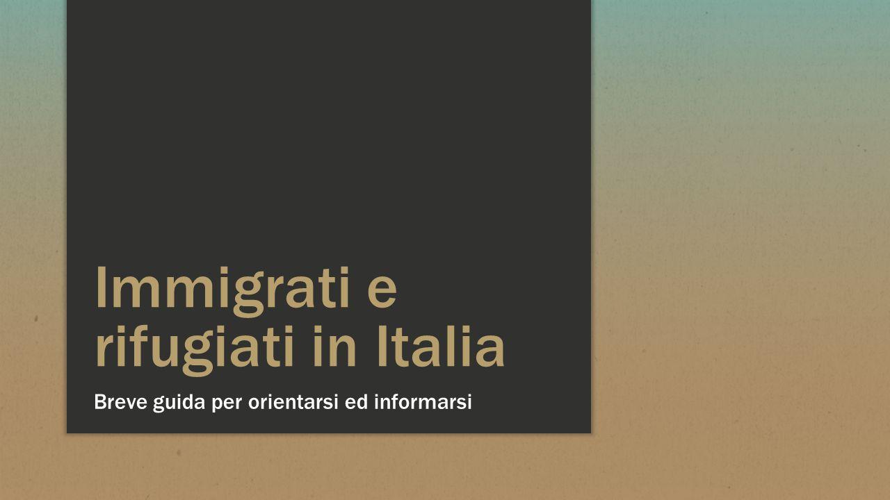 Immigrati e rifugiati in Italia