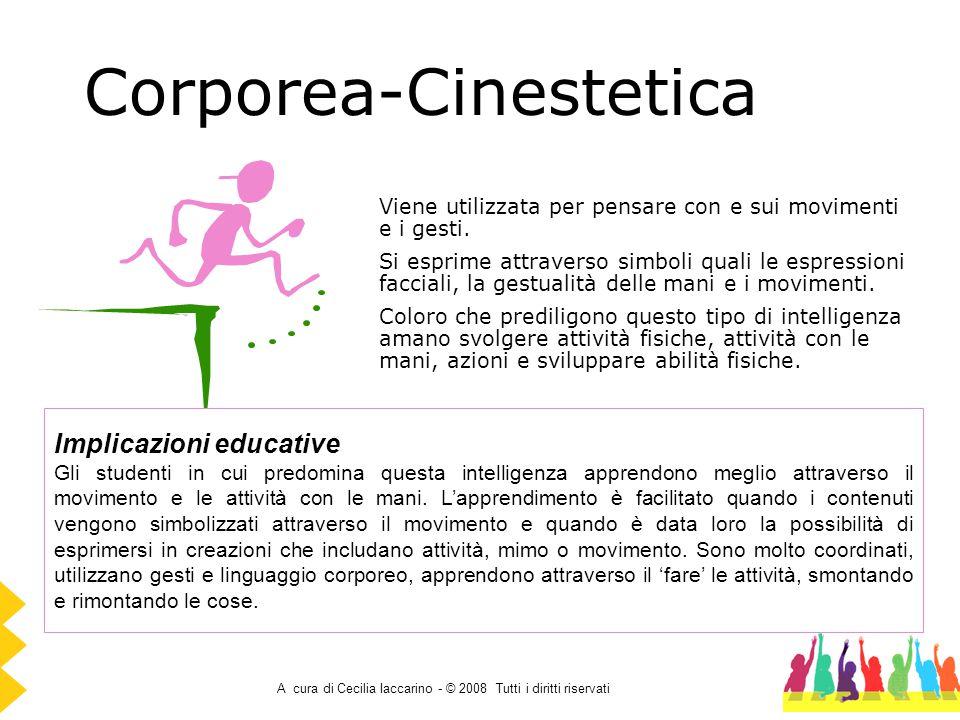 Corporea-Cinestetica