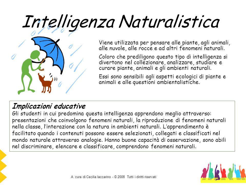 Intelligenza Naturalistica