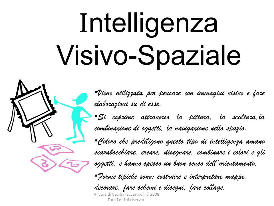 Intelligenza Visivo-Spaziale