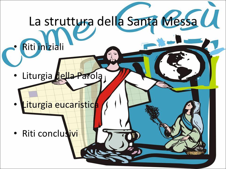 La struttura della Santa Messa