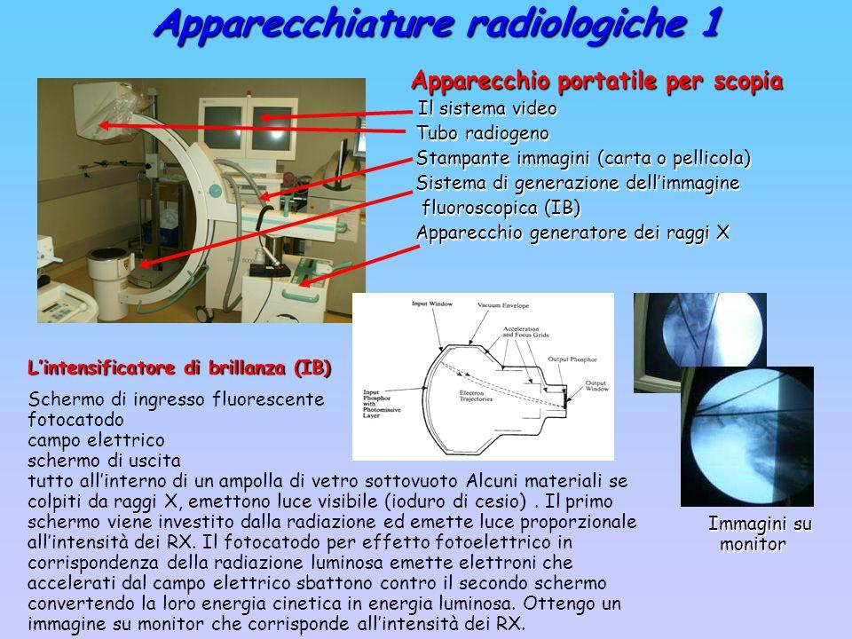 Apparecchiature radiologiche 1