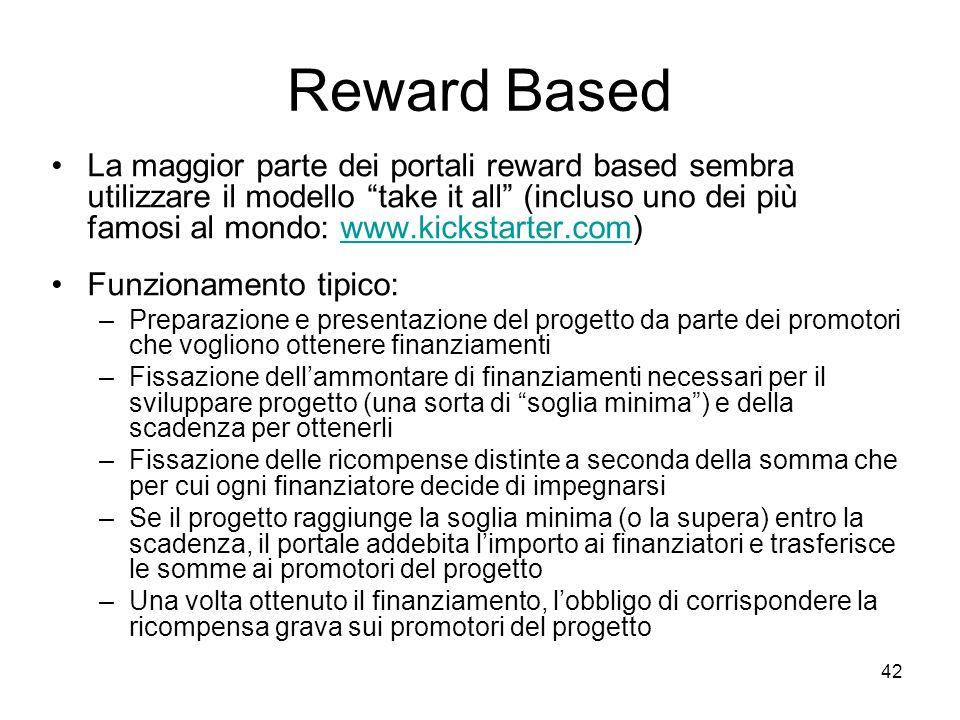 Reward Based