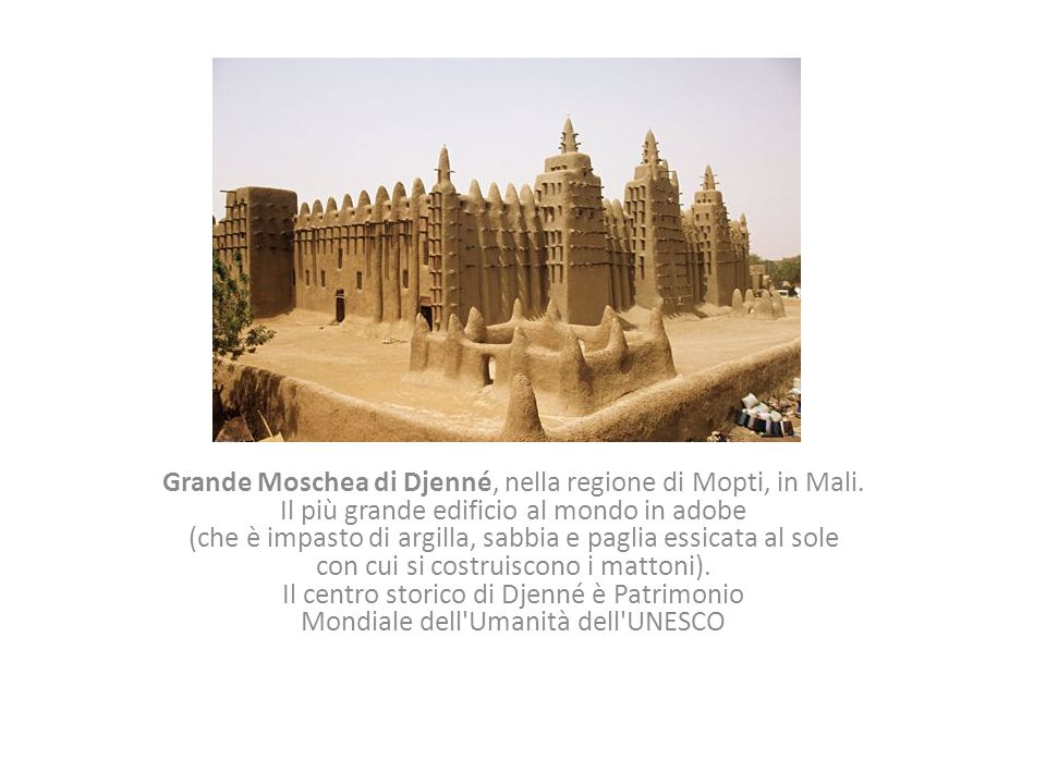 Grande Moschea di Djenné, nella regione di Mopti, in Mali