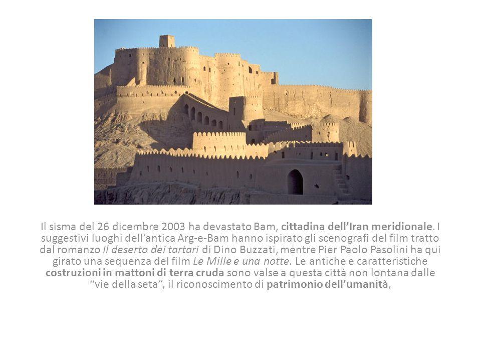 Il sisma del 26 dicembre 2003 ha devastato Bam, cittadina dell'Iran meridionale.