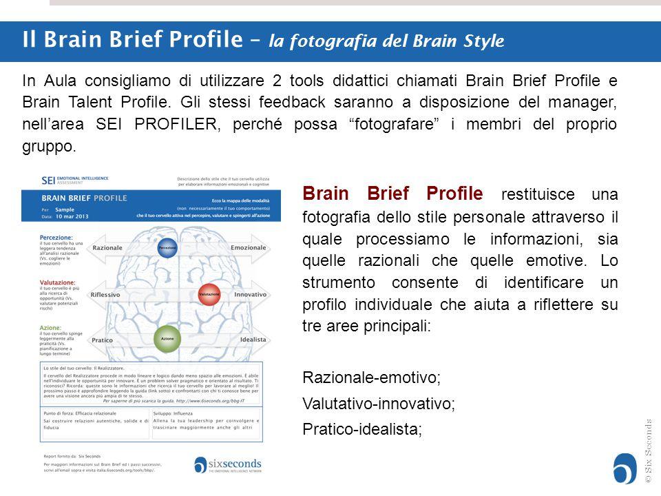 Il Brain Brief Profile – la fotografia del Brain Style