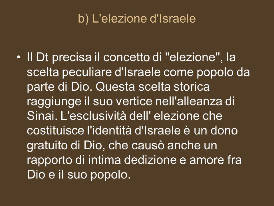 b) L elezione d Israele