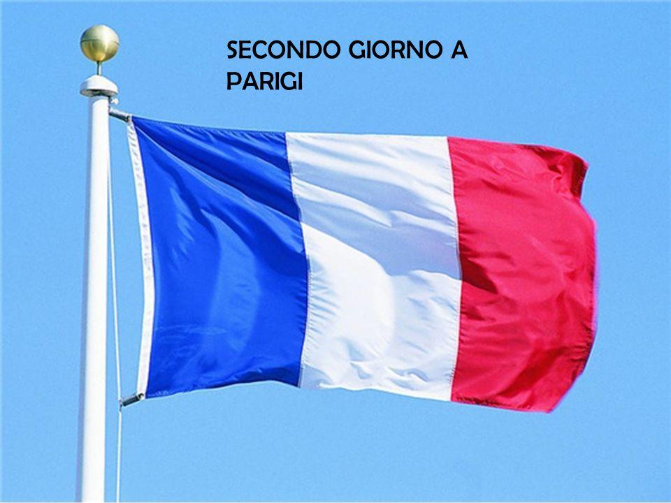 SECONDO GIORNO A PARIGI