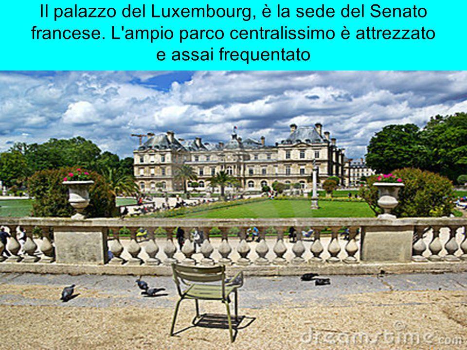 Il palazzo del Luxembourg, è la sede del Senato francese