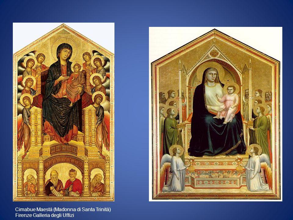 Cimabue Maestà (Madonna di Santa Trinità)