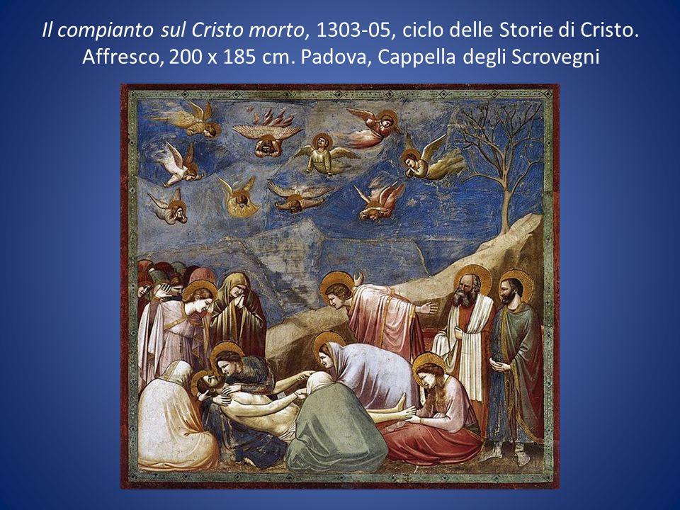 Il compianto sul Cristo morto, 1303-05, ciclo delle Storie di Cristo