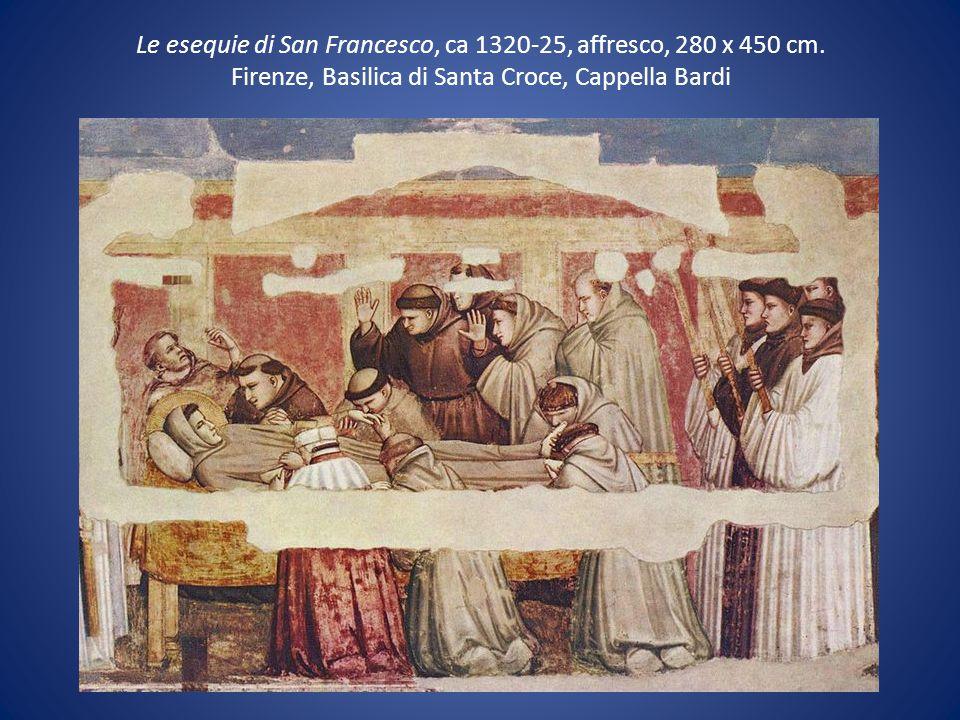 Le esequie di San Francesco, ca 1320-25, affresco, 280 x 450 cm
