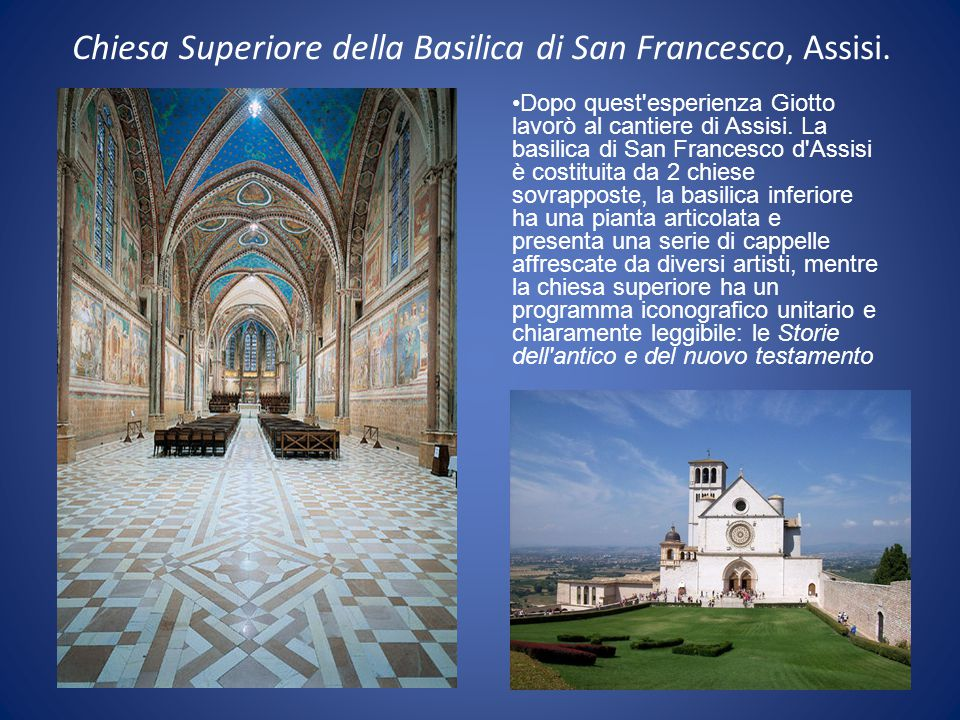 Chiesa Superiore della Basilica di San Francesco, Assisi.