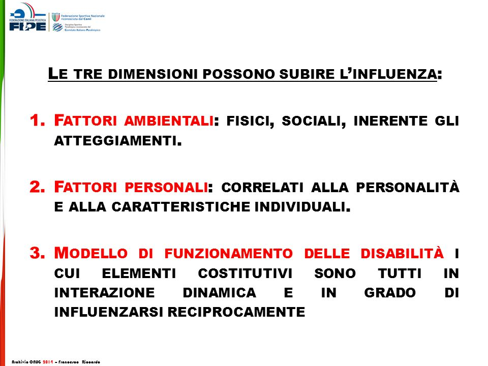 Archivio CNUG 2014 – Francesco Riccardo