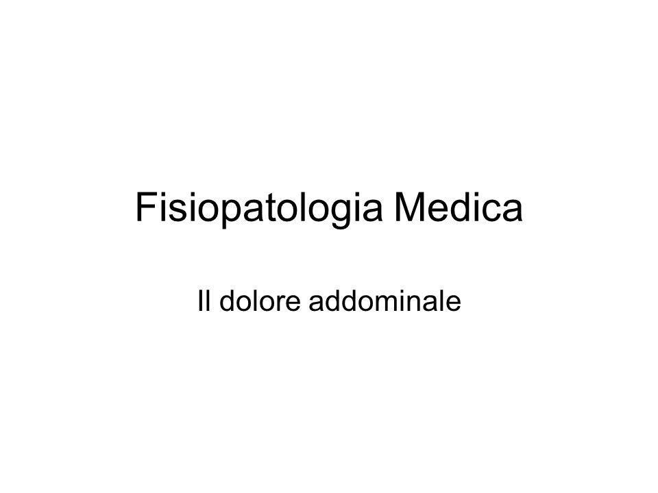 Fisiopatologia Medica