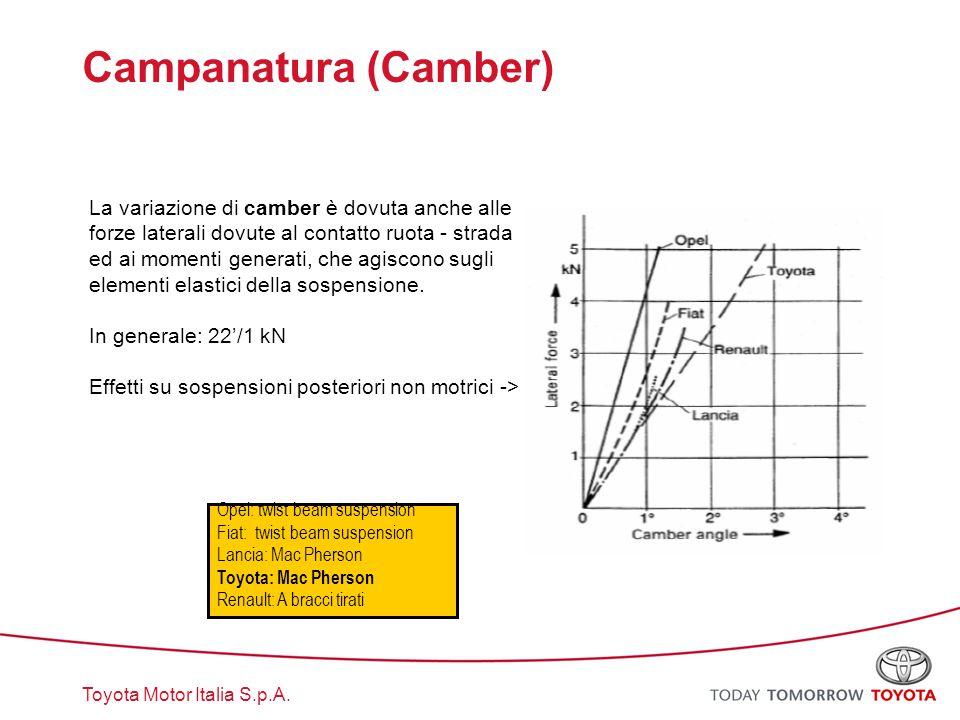 Campanatura (Camber)