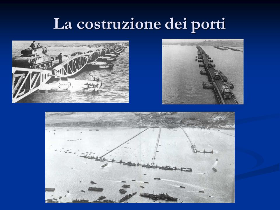 La costruzione dei porti