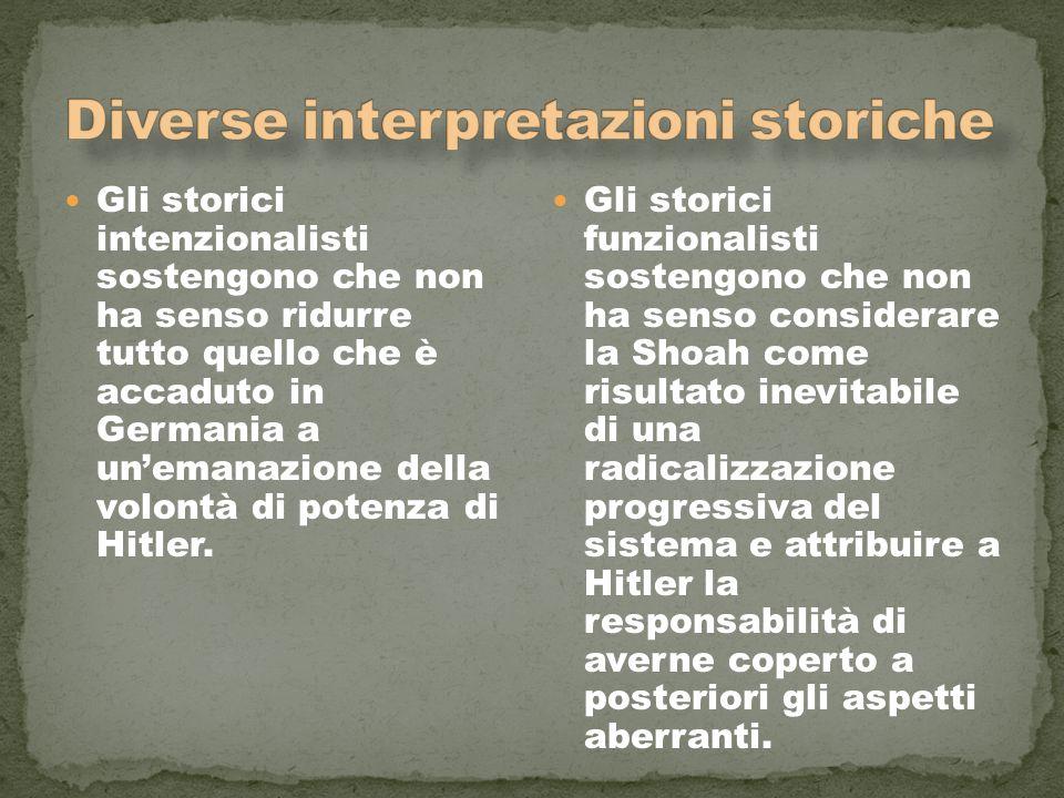 Diverse interpretazioni storiche
