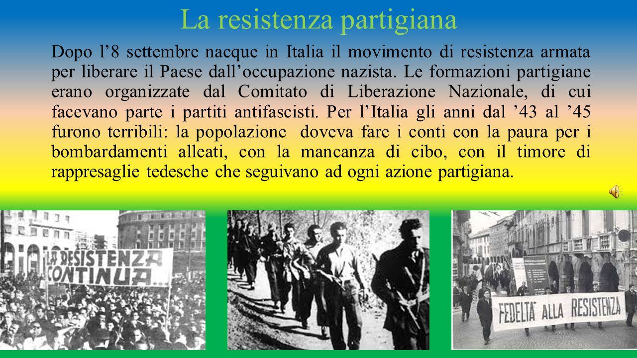 La resistenza partigiana