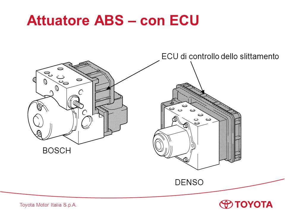 Attuatore ABS – con ECU ECU di controllo dello slittamento BOSCH DENSO