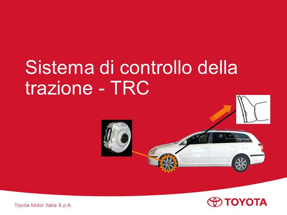 Sistema di controllo della trazione - TRC