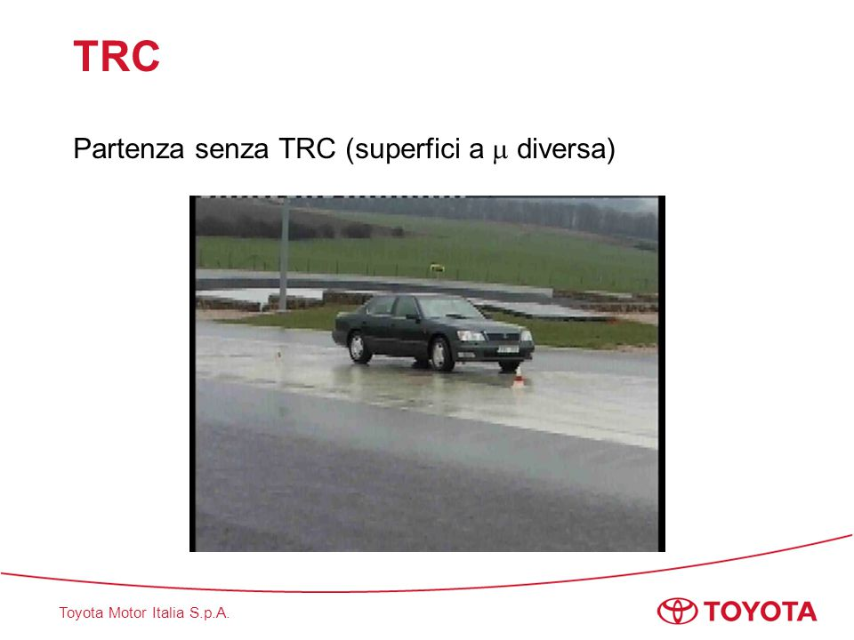 TRC Partenza senza TRC (superfici a  diversa)