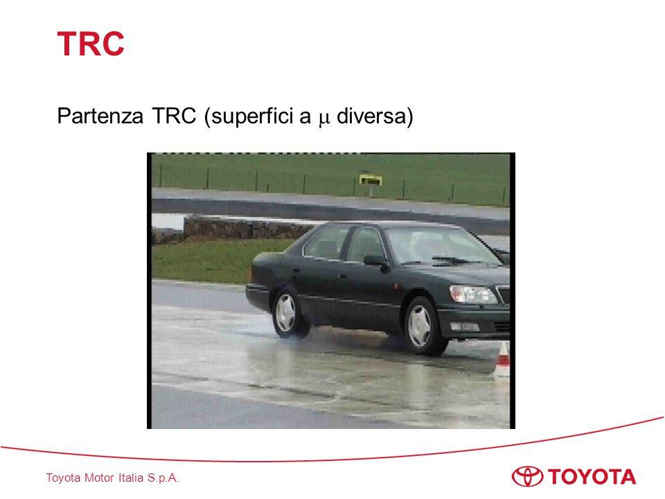 TRC Partenza TRC (superfici a  diversa)