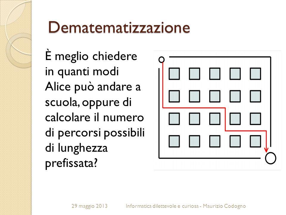 Dematematizzazione