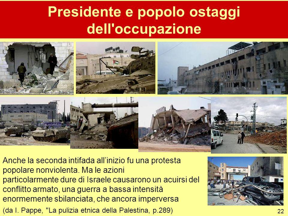 Presidente e popolo ostaggi dell occupazione