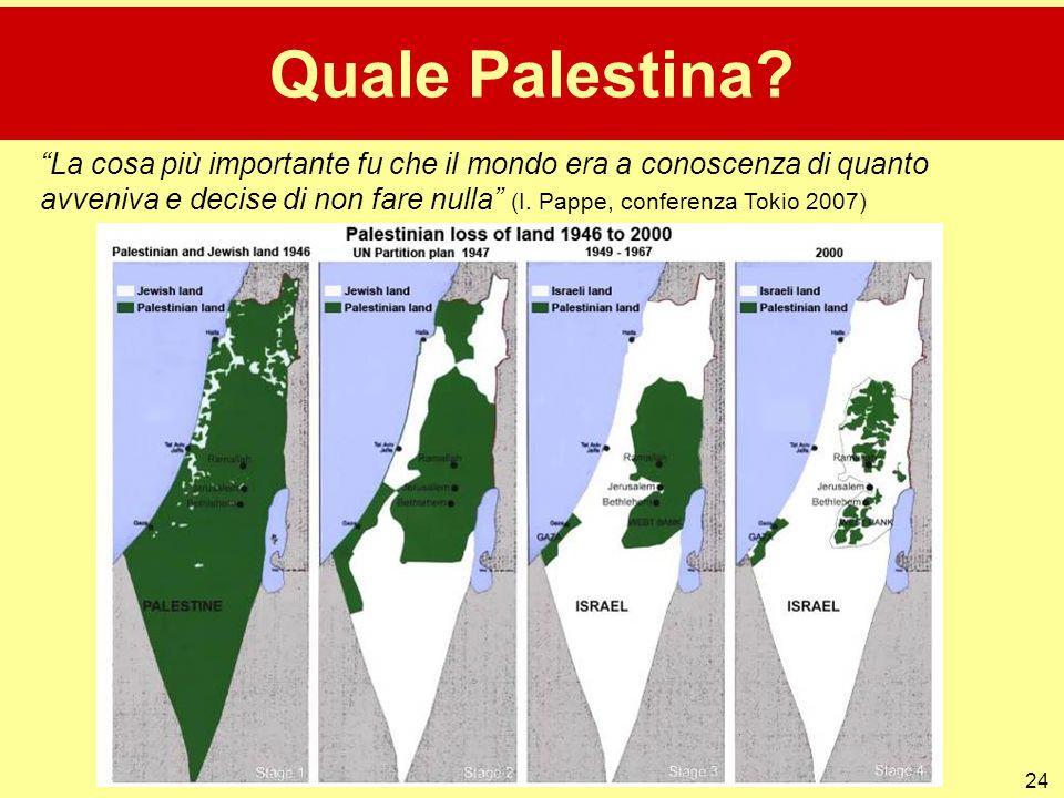 Quale Palestina