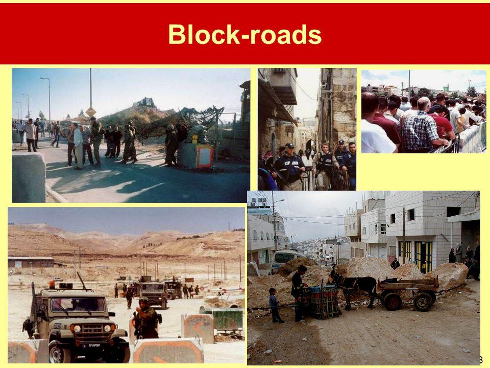 Block-roads
